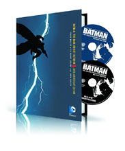 Image: Batman: The Dark Knight Returns HC Book & DVD/BluRay Set  - DC Comics
