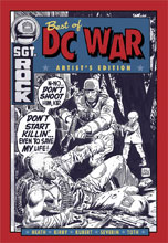 Image: Best of DC War Artist's Edition HC  - IDW Publishing