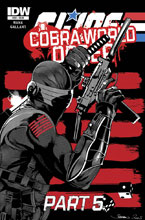 Image: G.I. Joe: A Real American Hero: Cobra World Order Part 5 #223 - IDW Publishing