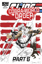 Image: G.I. Joe: A Real American Hero: Cobra World Order Part 6 #224 - IDW Publishing