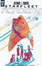 Image: Star Trek: Starfleet Academy #2 (variant incentive cover - George Caltsoudas) (10-copy) - IDW Publishing