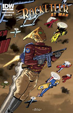 Image: Rocketeer at War #2 - IDW Publishing
