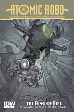 Image: Atomic Robo and the Ring of Fire #5 - IDW Publishing