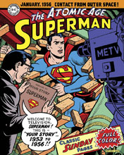 Image: Superman: The Atomic Age Sundays 1953-1956 HC  - IDW Publishing