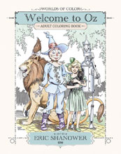 Image: Worlds of Color: Welcome to Oz Adult Coloring Book SC  - IDW Publishing