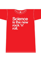 Image: Nowhere Men New Rock N Roll Men's T-Shirt [Red]  (XL) - Image Comics