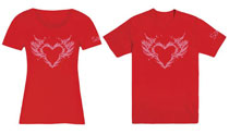 Image: Saga T-Shirt: Burning Heart Women's  (L) - Image Comics