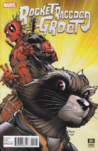 Image: Rocket Raccoon and Groot #1 (Nauck Deadpool variant cover - 00161) - Marvel Comics