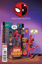 Image: Spider-Man / Deadpool #1 (variant cover - Action Figure Photo) - Marvel Comics
