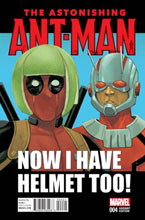 Image: Astonishing Ant-Man #4 (Noto Deadpool variant cover) - Marvel Comics