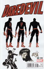 Image: Daredevil #3 (Garney Design variant cover - 00331) - Marvel Comics