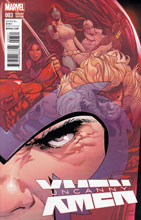 Image: Uncanny X-Men #3 (variant cover - Land) - Marvel Comics