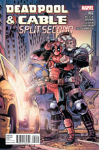 Image: Deadpool & Cable: Split Second #2 - Marvel Comics
