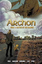 Image: Archon Book 01: Battle of the Dragon SC  - Action Lab Entertainment