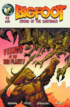Image: Bigfoot: Sword of the Earthman #2 - Action Lab Entertainment