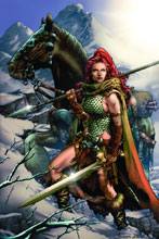 Image: Red Sonja Vol. 3 #1 (cover H - Virgin Art Connect - Anacleto) - Dynamite