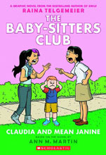 Image: Baby Sitter's Club Vol. 04: Claudia & Mean Janine GN  (color edition) - Graphix