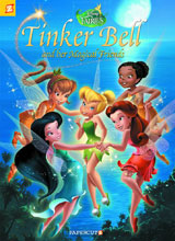 Image: Disney Fairies Vol. 18: Tinker Bell and her Magical Friends SC  - Papercutz