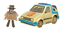 Image: Back to the Future Minimates: Rail-Ready Time Machine  -
