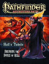 Image: Pathfinder Adventure Path #102: Breaking the Bones of Hell SC  -