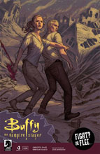 Image: Buffy the Vampire Slayer Season 11 #3 (main cover - Morris)  [2017] - Dark Horse Comics