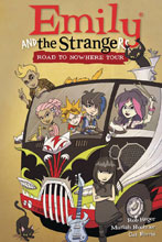 Image: Emily and the Strangers Vol. 03: Road to Nowhere Tour HC  - Dark Horse Comics