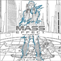 Image Mass Effect Adult Coloring Book SC