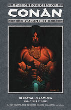 Image: Chronicles of Conan Vol. 34: Betrayal in Zamora and Other Stories SC  - Dark Horse Comics