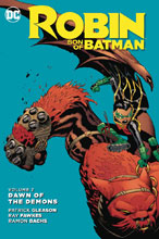Image: Robin, Son of Batman Vol. 02: Dawn of the Demons SC  - DC Comics