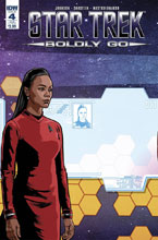 Image: Star Trek: Boldly Go #4 (subscription cover - Tony Shasteen) - IDW Publishing