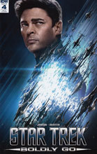 Image: Star Trek: Boldly Go #4 (photo incentive cover A - 00431) (10-copy) - IDW Publishing