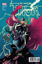 Image: Unworthy Thor #3 (Lupacchino variant cover - 00331)  [2016] - Marvel Comics