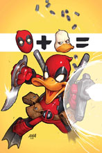 Image: Deadpool the Duck by Nakayama Poster  - Marvel Comics
