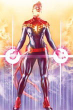 Image: Captain Marvel Variant Cover by Alex Ross Poster  - Marvel Comics