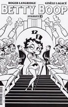 Image: Betty Boop #4 (cover C incentive - Bone B&W) (15-copy)  [2016] - Dynamite