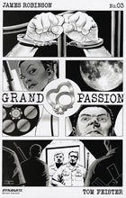 Image: Grand Passion #3 (cover B incentive - B&W) (10-copy)  [2016] - Dynamite