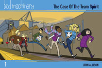 Image: Bad Machinery Vol. 01: The Case of the Team Spirit SC  - Oni Press Inc.