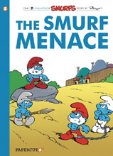 Image: Smurfs Vol. 22: The Smurf Menace HC  - Papercutz