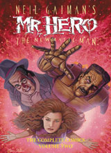 Image: Neil Gaiman's Mr. Hero the Newmatic Man Vol. 02 HC  - Super Genius