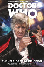 Image: Doctor Who: The Third Doctor Vol. 01: Heralds of Destruction HC  - Titan Comics