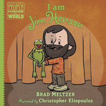Image: I Am Jim Henson HC  (Young Readers) - Dial Books