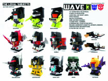 Image: TLS X Transformers Act Vinyl 16-Piece Blind Mystery Box Display Wv 3  - The Loyal Subjects