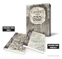 Image: Will Eisner: Contract with God Curator's Collection HC  - Dark Horse Comics