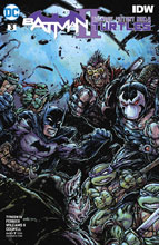Image: Batman / Teenage Mutant Ninja Turtles II #3 (variant cover - Kevin Eastman)  [2018] - DC Comics/IDW