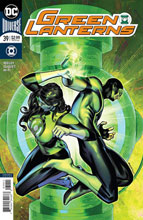 Image: Green Lanterns #39 (variant cover - Brandon Peterson) - DC Comics