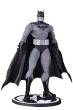 Image: Batman Black and White Action Figure: Hush by Jim Lee  - DC Comics