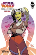Image: Star Wars Forces of Destiny - Hera  (cover B - Elsa Charretier)  [2018] - IDW Publishing