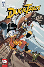 Image: Ducktales #5 (cover A)  [2018] - IDW Publishing