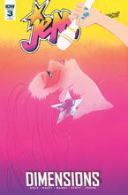 Image: Jem and the Holograms: Dimensions #3 (incentive cover - Eliza Frye) (10-copy)  [2018] - IDW Publishing