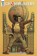 Image: Ghostbusters: Answer the Call #4 (cover A - Howell) - IDW Publishing